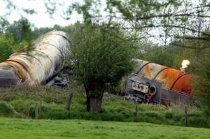 treinramp Wetteren